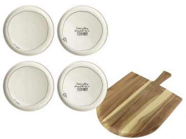 Pizza set 5dlg