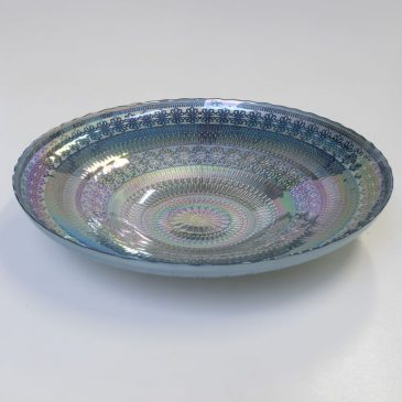 Rainbow Bowl Blue Large,  Diameter 40 cm