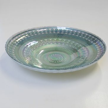 Rainbow Bowl Jade Large,  Diameter 40 cm