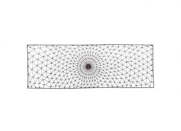 Arna Rectangular Wire Wall Art Rust