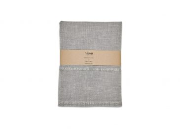 Abeto Table Cloth Washed Grey  Small