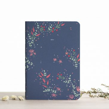 A5 Notebook - Elvire  - Blank Pages