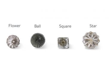 Glass Knobs Clear Glass
