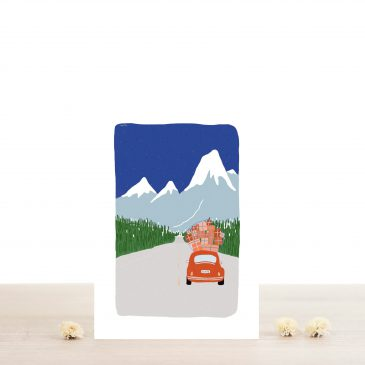 Greeting Card - Gaston
