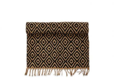 Jambo Jute Rug Black  Large