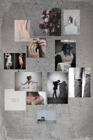 Mood board no 4 - Mixed sizes