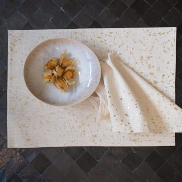 Placemats Gold Splash