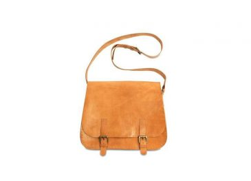 Savannah Leather Saddle Bag Tanned