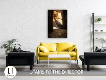 Stairs tot he Director
