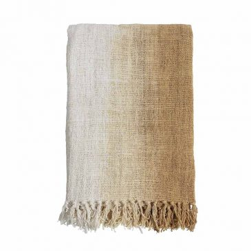 Throw Handw. Gradient Jute