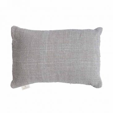 Cushion Handwoven Light Grey