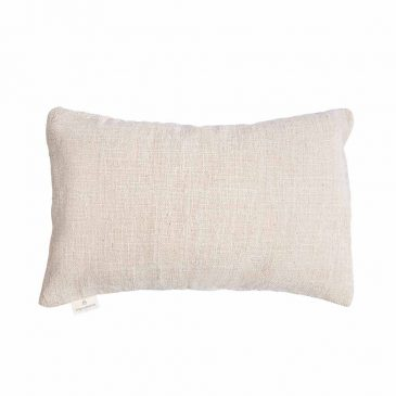 Cushion Handwoven Off White