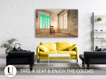 Take a seat and enjoy the colors