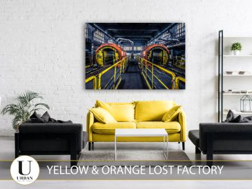 Yellow and Orange Lost Factory