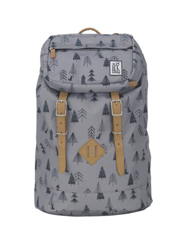 The Pack Society backpack grey tree allover