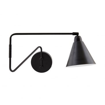 Wall lamp, Game, Black/White
