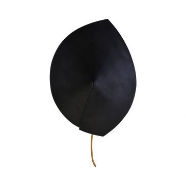Wall lamp, Leaf, Black
