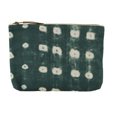 Make-up tas, Dots, Groen