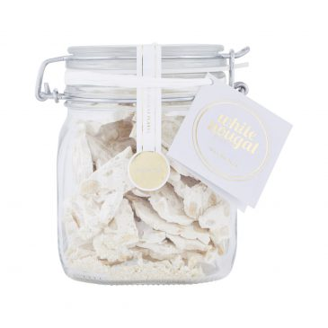 Nougat Slices In Jar