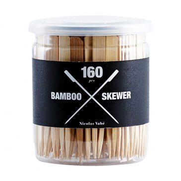 Skewer, bamboo, pack of 160 pcs
