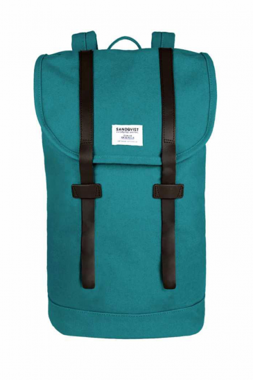 Sandqvist Stig Backpack Petrol Blue